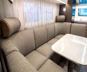 Adria Alpina - Multifunktionale Lounge