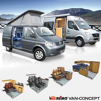 reimo campingbus wohnmobil einrichtungen mehr als 30. Black Bedroom Furniture Sets. Home Design Ideas