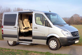BUSINESS STAR COMPACT auf MB Sprinter / Volkswagen Crafter